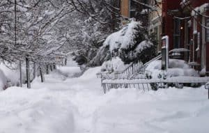 snow and ice injury liability