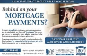 Behind on Mortgage Payments?  Foreclosure Guidebook